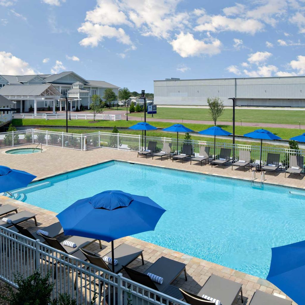 Beaufort Outdoor Pool Seasonal Swimming Beaufort Hotel Nc