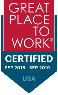 Place to Work Certified badge