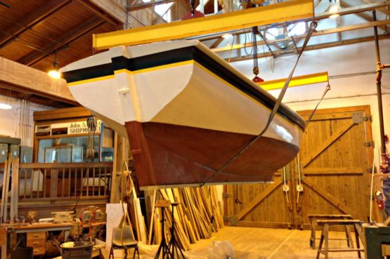 watercraft center maritime museum of an old boat