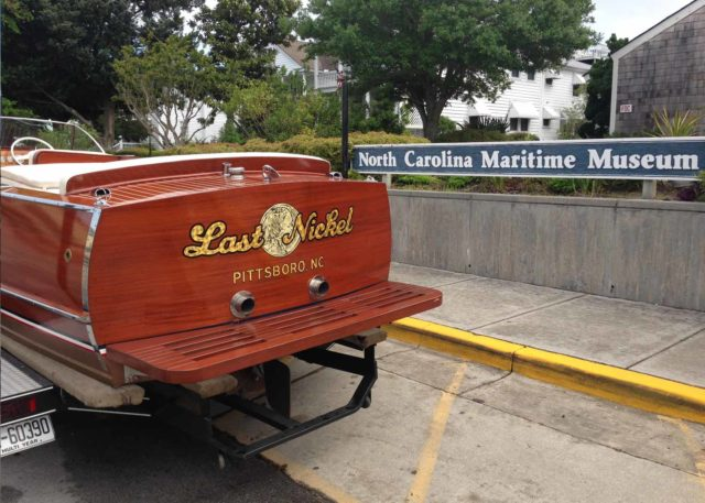 Annual Wooden Boat Show in Beaufort NC
