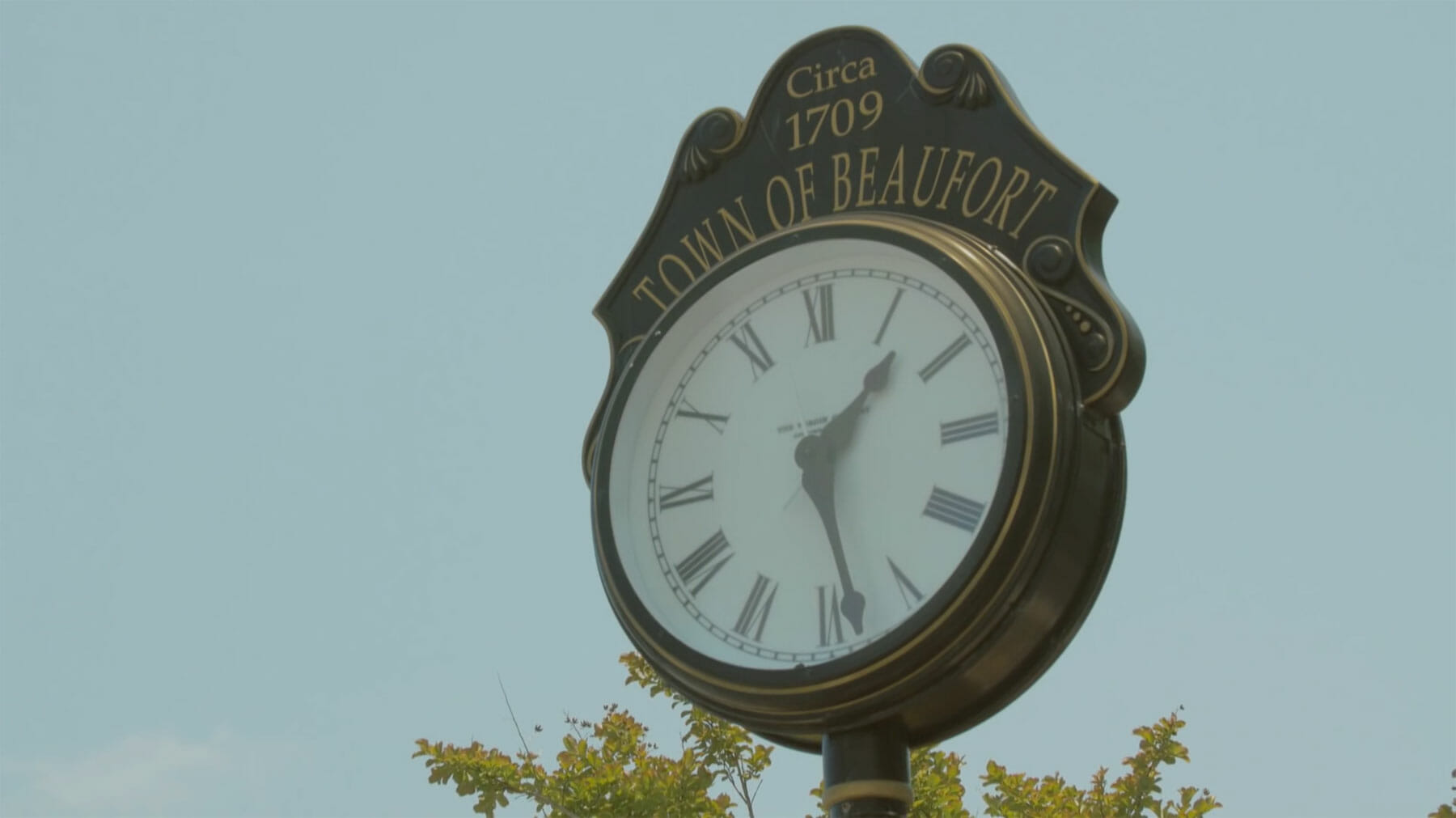 Video cover of an old town clock