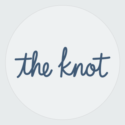 The Knot logo in a circle
