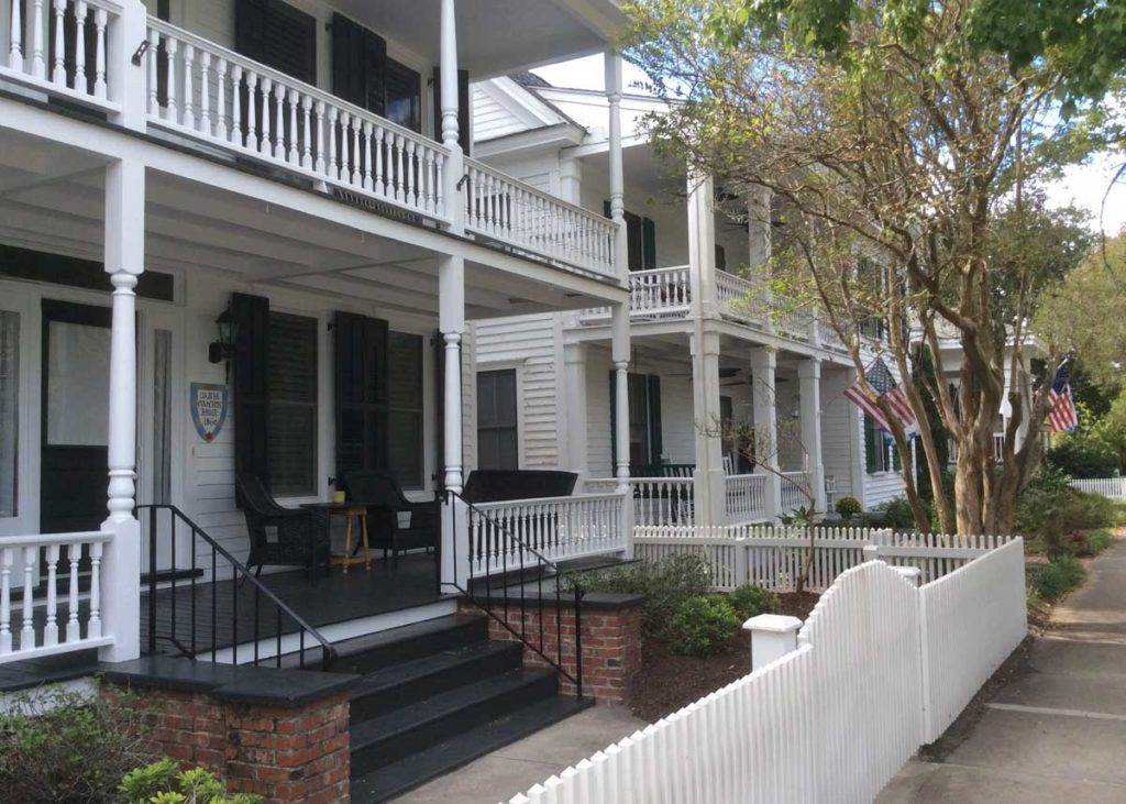 See many of the historic homes on Front Street during the Annual Beaufort Old Homes and Garden Tour