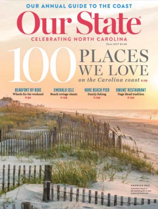 Our State Magazine cover of Beaufort