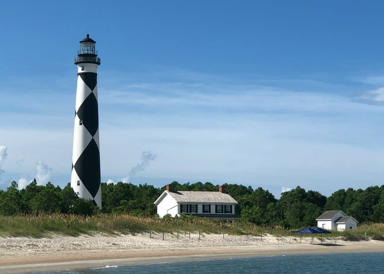 Cape Lookout Lighthouse in Beaufort NC