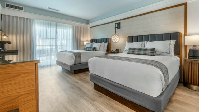 Double guestroom at hotel