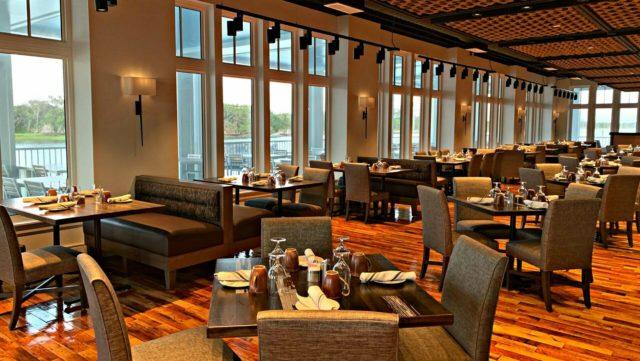 main dining room at 34 degrees restaurant