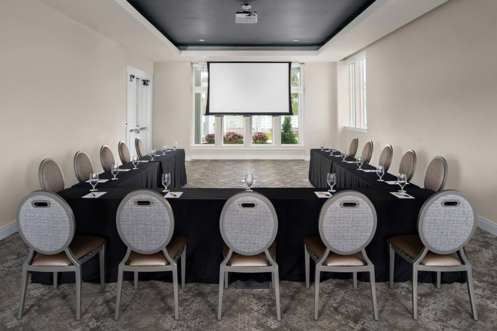 Shackleford Meeting Room set for U Shape