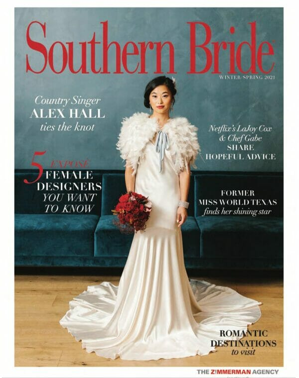 Southern Bride magazine cover