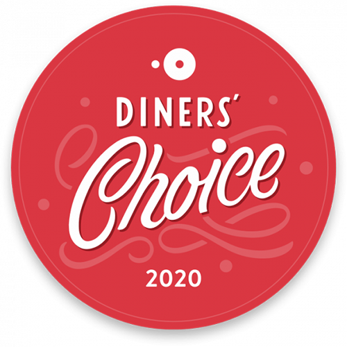 opentable diners choice 2020 award badge