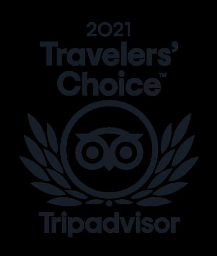 Traveler's Choice 2021 Tripadvisor Badge